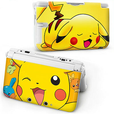 POKEMON PIKACHU Hard Case Cover For OLD STYLE NINTENDO 3DS XL