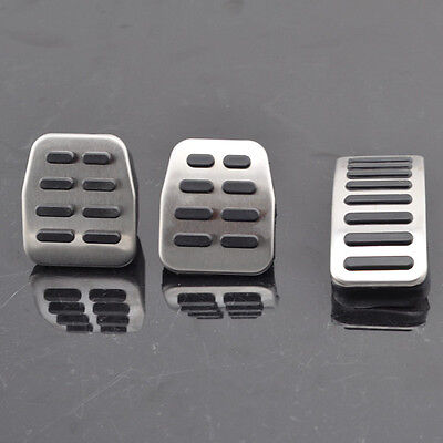 NEW Manual Pedal Cover Set For VW Golf Jetta 4 IV MK4 Bora Beetle