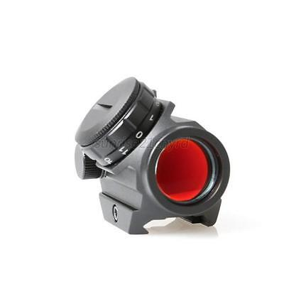 Red Dot Adjustable Sight Tactical Reflex Sight Scope Mount for Rifle Scope Laser