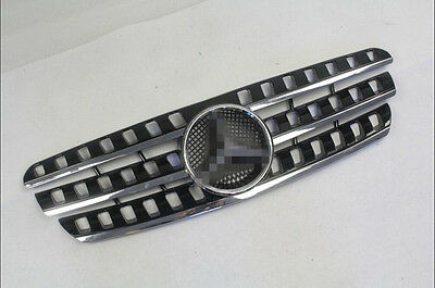 High quality black Mercedes W163 ML320 1998-2005 front grille mesh grill vent