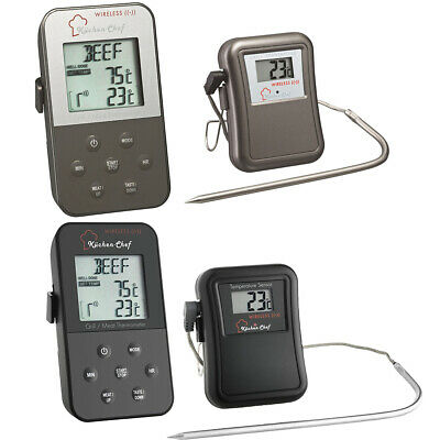 Funk-Braten-Thermometer Tfa 14.1504 Küchenchef Ofenthermometer 0-300 Grad Timer