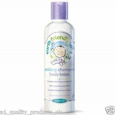 Earth Friendly Baby - Soothing Chamomile Body Lotion, 70% Organic Ingredients