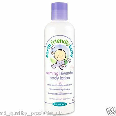 Earth Friendly Baby - Calming Lavender Body Lotion, 70% Organic Ingredients