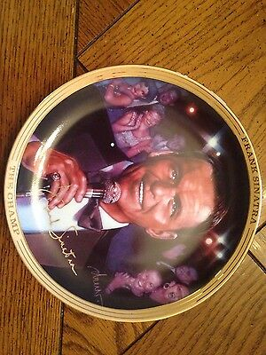 Frank Sinatra 24 kt musical collectors plate