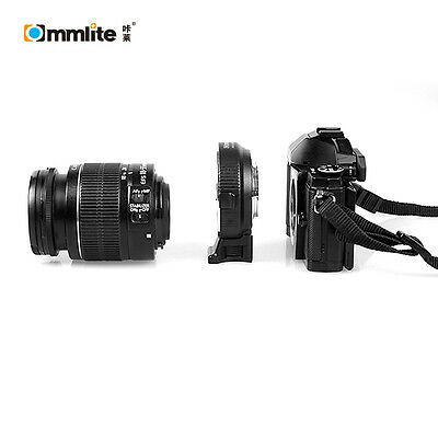 Commlite Electronic Aperture Control Canon EOS EF lens to Micro 4/3 adapter OM-D