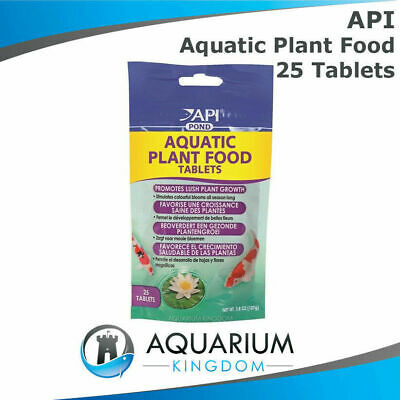 API PondCare Aquatic Plant Food 25 Tablets -Pond Fertiliser Water Lily 25pk Tabs
