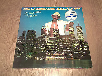 "Kurtis Blow "" Kingdom Blow "" 12"" Vinyl Ex/ex 1986 Club"