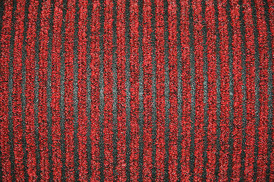 Red 2m Wide Ribbed Matting | Commercial Flooring | Reception Entrance Door Mat