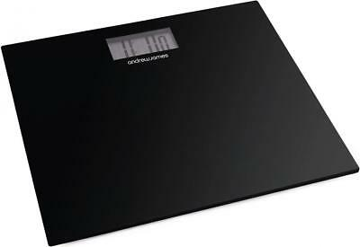 Andrew James Electronic Digital LCD Platform Bathroom Scales Weighing Body Scale