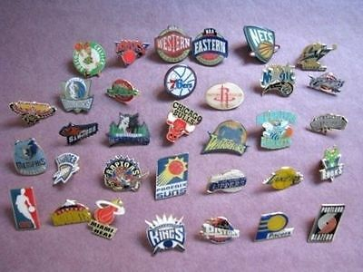Set of NBA Champions League Pin Badges Private Collection 33 pcs PB007