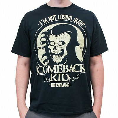 COMEBACK KID Shirt S M Sick Of It All/Bane/Terror/Expire/H2O/Backtrack/Ignite/HC