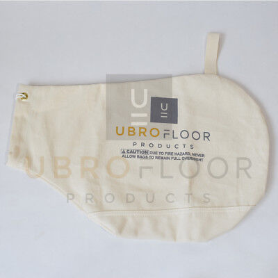 Double cloth bottom Dust Bag for Hardwood Floor Edger Super 7, Super 7R or B2