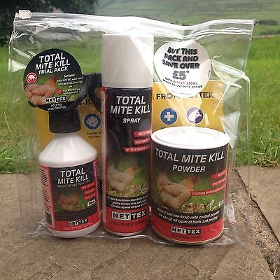 Nettex Total Mite Kill Trial/starter Pack