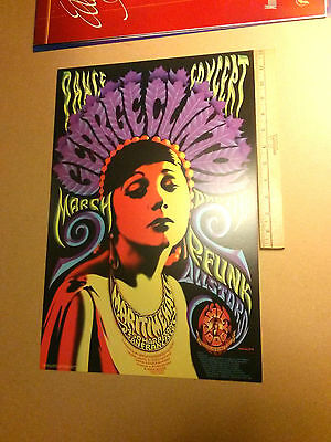 Origanl 1996 concert poster George Clinton, and the P Funk Allstars, Family Dog