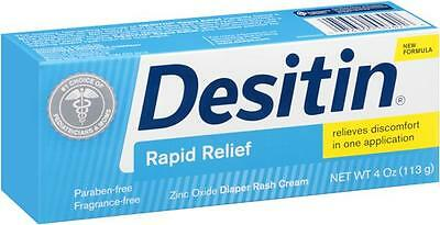 Desitin Rapid Relief Creamy  4 oz