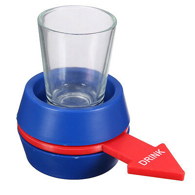 New Spinner Spin The Shot Glass Drinking Game Fun Party Gift