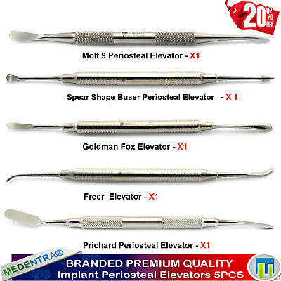 Professional Implant Periosteal Elevators Freer Buser Molt Pritchard Elevator