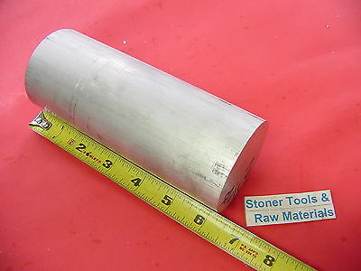 "2-1/2"" ALUMINUM ROUND ROD 6.25"" long 6061 T6 Solid 2.5 Diameter Lathe Bar Stock"