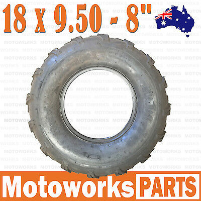 "18 x 9.50 - 8"" Inch Rear Tire 125cc 150cc 200cc 250cc 300cc ATV Quad Buggy Bike"