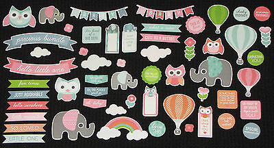 Kaisercraft 'LITTLE ONE' Collectables Die Cut Shapes Baby KAISER *Deleted*