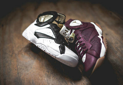 the latest bf5ce 851c6 Nike Air Jordan 7 Retro C C Champ Pack Set 2 pairs Cigar Champagne  Championship