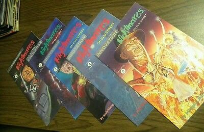 A Nightmare on Elm Street #1 2 3 4 5 HORROR Innovation Comic Book Set RARE!