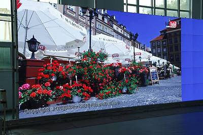 FULL COLOR 2.56m x 1.28m  RGB Fully Outdoor LED Sign Display Programmable Board