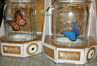2 butterfly in jar electronic flying flapping toys spring summer bug insect kids