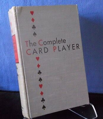 Vintage & Rare Book ~ THE COMPLETE CARD PLAYER