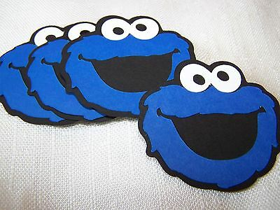 Cookie Monster Party Decorations 6 In Face Sesame Street 4