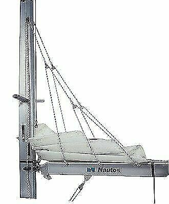Nautos #001R - Lazy Jack Kit Type A-Small Size (Boats up to 31') - Rope Included