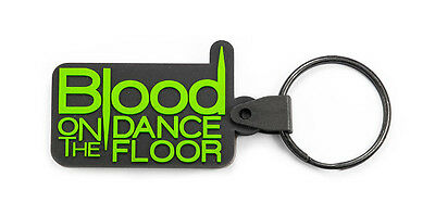 BLOOD ON THE DANCE FLOOR Rubber Key Chain Key Ring Keychain Keyring