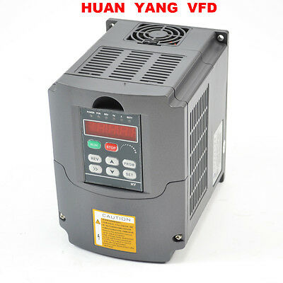 Variable Frequency Drive Inverter Vfd 1.5Kw 220V 2Hp 7A  For Cnc Speed Control
