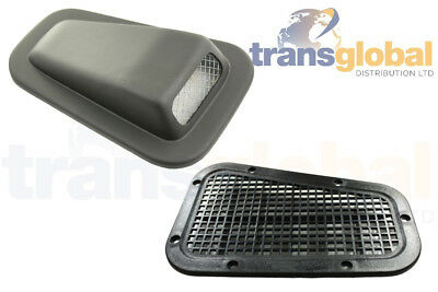 Wing Top Heater Air Intake Scoop & Blanking Vent for Land Rover Defender 90 110