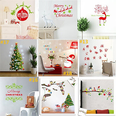 DIY Removable Wall Stickers Decal Interior Quote Christmas Home Art Vinyl Decor