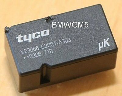 Tyco V23086-C2001-A303 Relay used in BMW GM3 modules and others