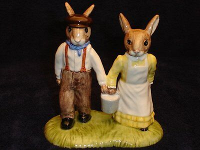 Jack And Jill DB222 by Royal Doulton - Bunnykins The Nursery Rhyme Collection