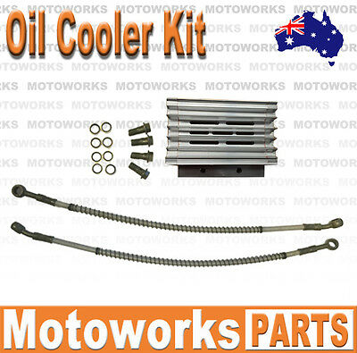 CNC Oil Cooler Kit Radiator 140cc 150cc 160cc PIT PRO Trail Dirt Quad Bike ATV