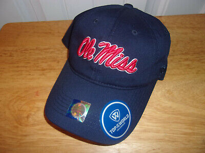 on sale d21ce 0b2dd NCAA Ole Miss Rebels Hat Cap NWT MSRP  24.99 Free Shipping!