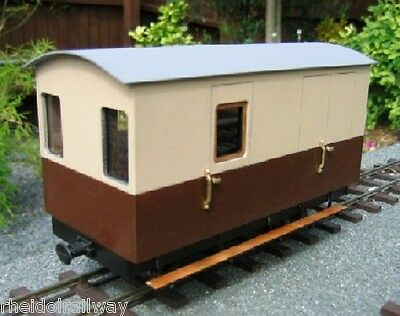 Vale Of Rheidol Railway Guards Van Kit,SM32 Garden railway 16mm scale LGB