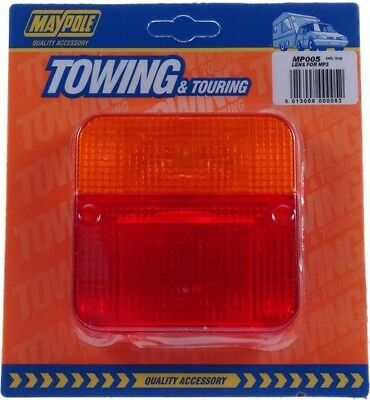 Maypole Spare Lens for MP3/3B Towing & Touring Lamp | High Visibility | Caravans
