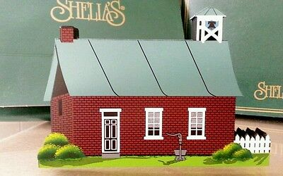 Shelia's Collectibles – 1997 Amish Schoolhouse – AMS 10