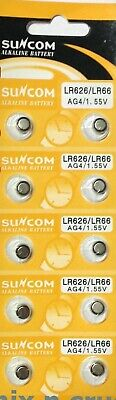 5 x AG4 SR626 377 LR626 1.5v ALKALINE BUTTON COIN CELL WATCH BATTERIES BATTERY