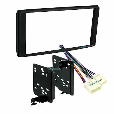 Car Stereo Mount 95-7521B Double Din Radio Install Dash Kit /& Wires for Mazda 5