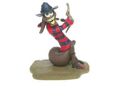 The Turds Figurines - FREDDY POOGER krueger - Brand NEW in Box and Log Book 2