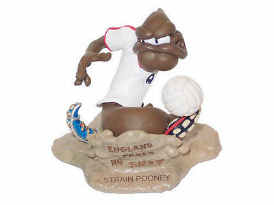 The Turds Figurines - STRAIN POONEY Wayne Rooney - Brand NEW Box and Log Book 2