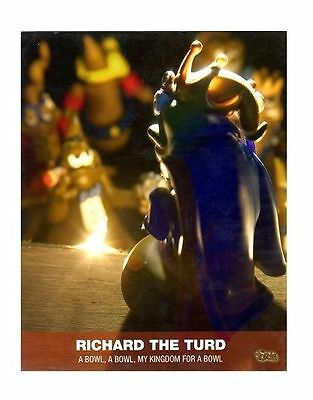 The Turds Movie Still - RICHARD THE TURD - Brand NEW SEALED PACK LIMITED EDIT 2