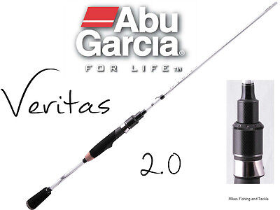 Abu Garcia Veritas 2.0 Spinning Rod 7' 2-4kg 2pc Fishing (Australian Warranty)