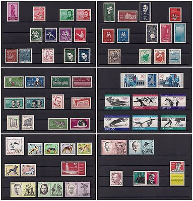 DDR/East Germany - Awesome Collection of MNH Complete Sets