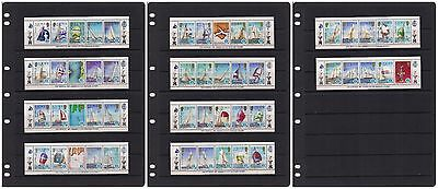 SOLOMON ISLANDS - Beautiful Collection of MNH Mini Sheets, HCV